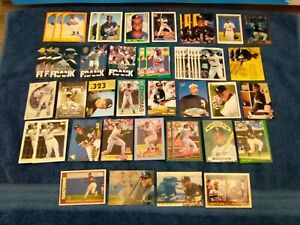 FRANK THOMAS 5O CARD LOT ROOKIE 1990 FLEER SCORE FLEER TOPPS AND MORE