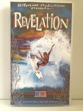 REVELATION~ANDY & BRUCE IRONS, OCCY, KELLY SLATER, LOPEZ~RARE SURFING VHS VIDEO