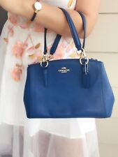 New Coach F36704 Mini Christie Carryall In Crossgrain Leather NWT