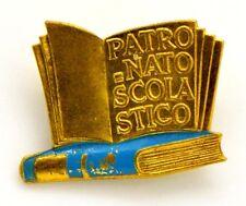 Spilla Patronato Scolastico (Franco Ricci Firenze) cm 2,3 x 1,9