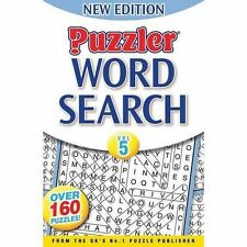 Ex-Library Wordsearch Puzzle, Trivia & Indoor Games Books
