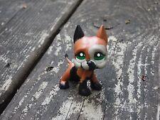 Littlest Pet Shop Custom OOAK LPS Black/Tan/Brown Great Dane