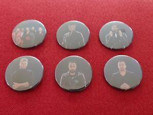 "BSB Backstreet Boys Planet Hollywood Las Vegas 6 x 1.75"" fridge magnets"