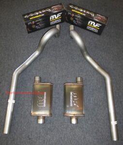 "64-77 Chevrolet Chevelle 3"" Mandrel Bent Exhaust - MagnaFlow Muffler"