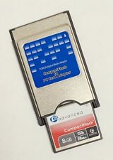 Centon 8GB CF  + Compact Flash to PCMCIA PC Card Adapter Reader, ATA Flash
