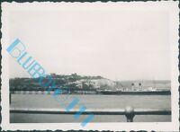 Dover castle & Ferry S.S Biarritz  in 1938 3.5 x 2.5 inch