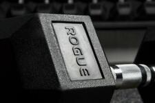 Rubber Hex Dumbbell - Rogue Fitness - 20 lb Pair - PROMPT SHIPPING GUARANTEED