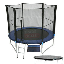 6FT Trampoline With FREE Safety Net Enclosure, Ladder, Rain Cover, + Shoe Bag