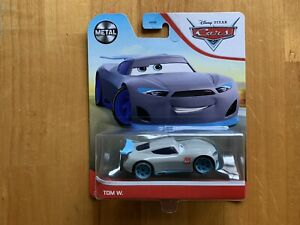 Disney Pixar Cars Tom W Blue Next Gen Racer Diecast Ship WW
