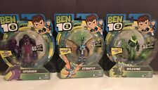 BEN 10 -Upgrade, Stinkfly & Wildvine- 2017 NIB Figures