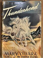 1943 Thunderhead First Edition by Mary O'Hara Published by J. B. Lippincott Co