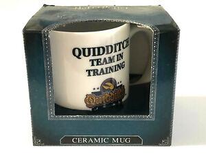 Harry Potter Kaffeetasse Kaffeebecher Quidditch Porzellan Mug Geschenkverpackung