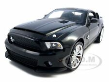 2010 FORD SHELBY MUSTANG GT500 SUPER SNAKE BLACK 1:18 SHELBY COLLECTIBLES SC344