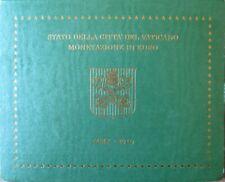 VAX2010.1 - COFFRET BU VATICAN - 2010 - 1 cent à 2 euros