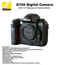 NIKON D100  Digital SLR Camera Body Set / Excellent condition