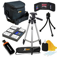 Accessory Kit For All Advance point & shoot Cameras Top Kit Value!