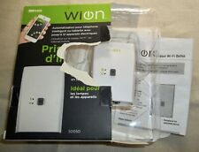 Woods WION Indoor Wi-Fi Outlet Programmable Timer Wireless Switch 50050