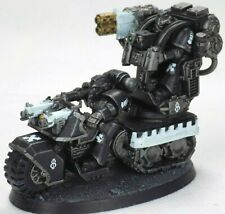 Warhammer 40K Iron Hands Space Marines Attack Bike With Multimelta Custom Build