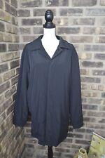 Liz Claiborne Men's Jacket Coat size LARGE Black Lined Button Front