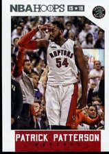 2015-16 Hoops #196 Patrick Patterson NM-MT Raptors