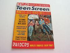 TEEN SCREEN  APRIL 1967   BEACH BOYS, BEATLES, ROLLING STONES, PAUL REVERE, CHER