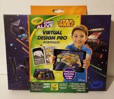 Crayola Color Alive Star Wars Virtual-Design Pro Portfolio|NEW FAST SHIPPING