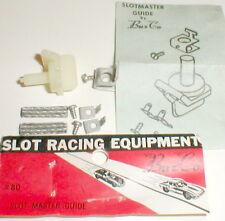 1 Complete SLOTMASTER GUIDE Kit by Buzco Original Vintage 1960 NOS Slot Car #80