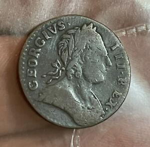 George Hibernia 1773 Farthing Non Regal