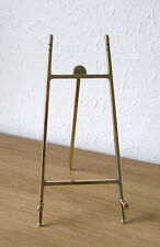 """Contemporary"" Italian Cast Brass Display Easel 13 x 33cm"