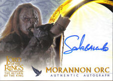 LORD OF THE RINGS RETURN OF THE KING UPDATE AUTOGRAPH CARD SALA BAKER