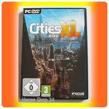 """Cities XL 2011""""""""PC GIOCO CON MANUALE""""""""come nuovo"""