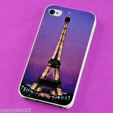 S Colorful Tower Back Skin Hard Cover Case for Apple i-phone 4 4S 4G G