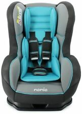 Nania Cosmo SP 0-4 YR Rear & Forward Facing Recliner Car Seat SHADOW AQUA BLUE