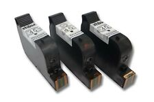 3x VHBW CARTUCCIA PER HP No. 45 C5165  C51645DE 30ml NERO BLACK