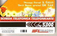Telefonkarte Italien gut erhalten + unbeschädigt (intern: 2290 )