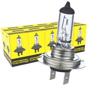 10x BREHMA Germany H7 Classic Halogen headlight bulb 12V 55W Globes car bulbs