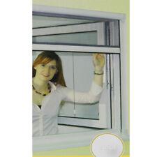 Fliegengitter Fenster Insektenschutz Rollo KS Rahmen 130x160cm Weiß