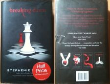 Breaking Dawn by Stephenie Meyer (Hardback, 2008) Twilight Saga
