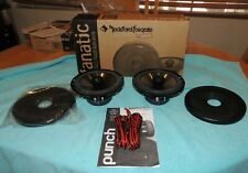 "Rockford Fosgate Fanatic High Performance 6.5"" 2 Way Full Range Speakers *NEW*"
