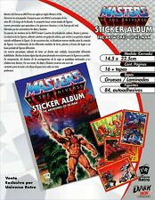 Artwork Sticker Album He-Man Mattel MOTU Universo Retro
