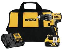"DeWalt 20V MAX XR Brushless 1/2"" Cordless Drill/Driver Kit -NEW IN BOX FREE SHIP"