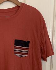 Rip Curl Striped Pocket T-Shirt Men's T Shirt Size L