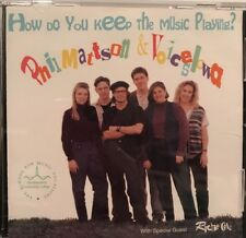 Phil Mattson How Do You Keep The Music Playing CD Voices Iowa