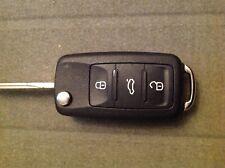 Seat 3 BUTTON REMOTE  flip car key fob