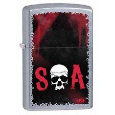 Zippo 28836 sons of anarchy soa street chrome finish Lighter