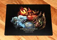 2008 Paris Blizzard Worldwide Invitational Rare Mousepad Diablo Starcraft WOW
