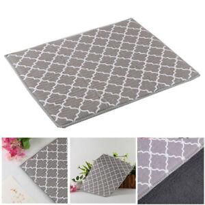 40*30CM Microfiber Dish Drying Mat Pad Kitchen Sink Drainer Tea Towel Absorbent