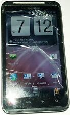 HTC ThunderBolt -Black (Verizon) Smartphone Cracked Glass Bad LCD Good Digitizer