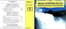CD DGG SIBELIUS SYMPHONIEN NOS. 5&7 BERNSTEIN WIENER PHILHARMONIKER