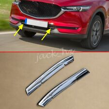 Chrome Grill Strips Bumper Grille Trims For Mazda CX-5 KF 2017-2020 Accessories